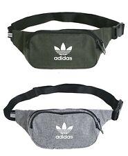 Adidas MELANGE Body Waist Bags Expandable Gray Waist-belt Bag GYM Sacks DV2403