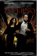 Inferno, (DVD), NEW and Sealed, Tom Hanks, FREE Shipping!