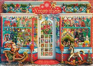 Gibsons Christmas Emporium Jigsaw Puzzle (1000 Pieces)