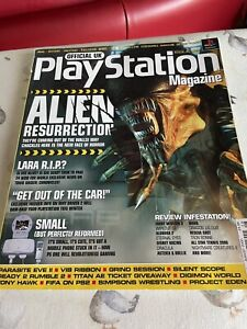 Official UK Playstation Magazine - Issue 61 August 2000 -  With disc