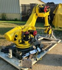 2003 Fanuc 6 Axis Robot Cell R 2000ia200f 200 Kg Capacity R J3ib Control