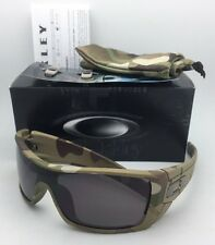 New OAKLEY Sunglasses BATWOLF OO9101-34 Multi-Cam Camo Frame with Warm Grey Lens