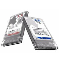 2.5 inch Transparent USB3.0 HDD Case Tool Box Free UASP Hard Drive Enclosure GU