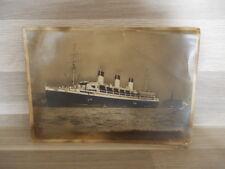 "Old postcard ""Cap Arcona"" im Hamburger Hafen"