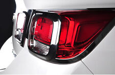 4PCS For Chevrolet Malibu 2013 2014 2015 ABS Chrome Rear Lamp Cover Trim