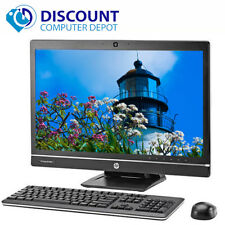 "HP 6300 21.5"" All-In-One LED Desktop Computer Windows 10 Pro Core i5  4GB 500GB"