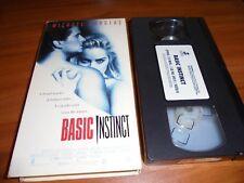 Basic Instinct (VHS, 1992) Michael Douglas,Sharon Stone Used