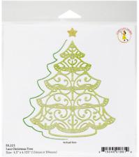 Cheery Lynn Doily DIE pizzo Albero di Natale DL223 - 4.5 x 4 1/8 - NUOVO