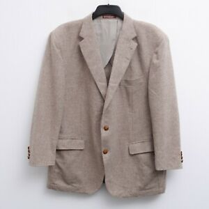 EL CORTE INGLES Mens UK 50 Blazer EU 60 Suit Jacket Coat Sport Wool Cashmere 4XL