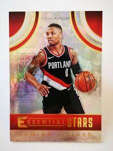 Panini Essentials 2017-18 N32 NBA Essential Stars #ES-6 Damian Lillard Blazers