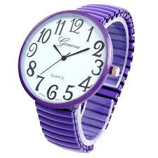 New Geneva Super Large Face Stretch Band Fashion Watch