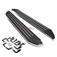 "FOR 99-16 SUPERDUTY EXT//SUPER CAB BOLTON 5/""CHROME POLISH OVAL STEP NERF BAR//RAIL"