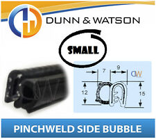 Pinchweld Rubber Side Bubble Seal (Small) Water & dust protection Camper Trailer