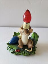Charming Tails Christmas Light Bulbs No Box Not currently Working not tested