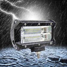 5'' 72W Philips LED Auto Work Light Bar Flood Driving Lampen Arbeitsscheinwerfer