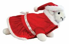 MARSHALL PET CHRISTMAS THEME HOLIDAY SANTA SUIT DELUXE OUTFIT. TO USA