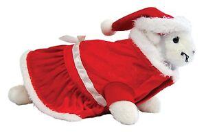 Marshall Animal Noël Thème Vacances Santa Suit Deluxe Outfit. Pour USA