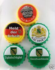 Flaschenöffner Sachsen mit Spruch sächsisch Ossi Ostprodukte Magnet  Kapselheber
