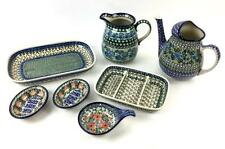 (7) Unikat Ceramic Dishes, Pitchers Lot 1431