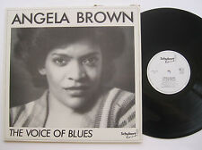 LP Angela Brown - The Voice Of  Blues - mint- Erwin Helver Schubert Records