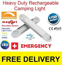 LED Emergency Camping USB power Fishing Auto mobile rechargeable light RRP $150