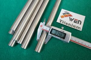 "8mm Dia Titanium 6al-4v round bar .314/"" x 10/"" Ti Grade 5 rod Metal Alloy 4pcs"