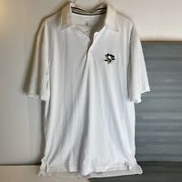 Pittsburgh Penguins Performance Polo Mens Size M LevelWear NEW FREE SHIPPING
