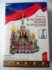 3D Puzzle Church of the Savior on Spilled Blood Kirche Petersburg Cubic Fun