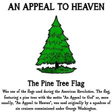 Conservative AN APPEAL TO HEAVEN PINE TREE FLAG Political Shirt
