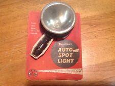 early Monowatt AUTO SPOT lamp NOS 6v light 12' cord VINTAGE auto Truck GE
