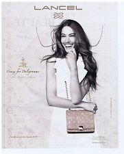 PUBLICITE ADVERTISING 114 2011 LANCEL le Daligramme créé par Dali pour Gala