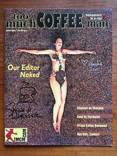Too Much Coffee Man Magazine #0 2000 Signed by Shannon Wheeler & Anina Bennett