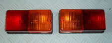 TRAILER LIGHT UNIT X 2 (STOP/TAIL/INDICATOR/NUMBER PLATE) - LE PEREI