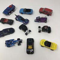 VINTAGE 1990's Hot wheels Kenner Matchbox cars trucks - lot of 12 diecast