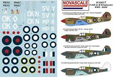 RAAF P-40K&M Kittyhawk WWII Decals 1/32 Scale N32017