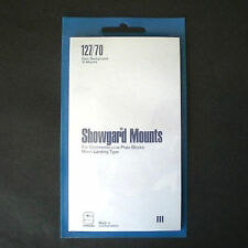 Showgard Stamp Mounts Size 127/70 Black Background Pack of 10