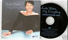 "Anita Baker - My Everything  GERMANY PROMO 3"" CD in Cardsleeve (2004)"