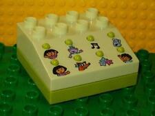 LEGO 7333 - Duplo Sound Effects Brick w/ Dora The Explorer Sounds - Lime