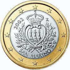 SAN MARINO  1 € Euro circulation coin  2013 uncirculated