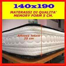 materasso alla FRANCESE  memory Foam140x190  OCCASIONE SOTTOCOSTO