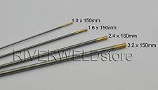 1.5% Lanthanated WL15 TIG Welding Tungsten Electrode Assorted Size 1.0~3.2mm,4PK