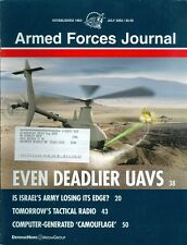 2003 Armed Forces Journal Magazine: Even Deadlier UAVS/Tactical Radio/Israel