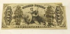 "1863 50 FIFTY CENTS THIRD ISSUE ""JUSTICE"" FRACTIONAL CURRENCY FR.1362   BCS/501"