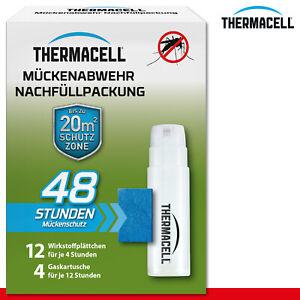 Thermacell Mückenabwehr Nachfüllpack 48 Stunden Stichfrei 20 m² Schutz Moskito