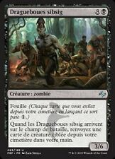 MTG Magic FRF FOIL - Sibsig Muckdraggers/Draguebours sibsig, French/VF