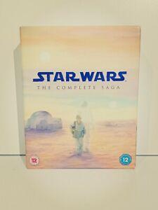 Star Wars The Complete Saga Box Set & The Force Awakens - All Blu-ray