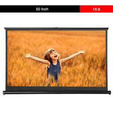 Retractable Projektionswand Beamer Leinwände Projection Screen for 16:9 HD Movie