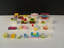 Lego Friends Restaurant Cabinets Drawers Coolers Register Ice Cream Machine LOT