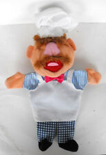 RARE Disney MUPPETS The Swedish Chef Hand Puppet MINT The Netherlands