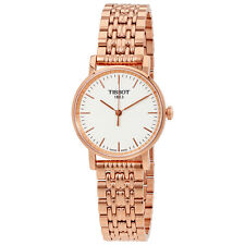Tissot Everytime Small White Dial Ladies Rose Gold Tone Watch T1092103303100